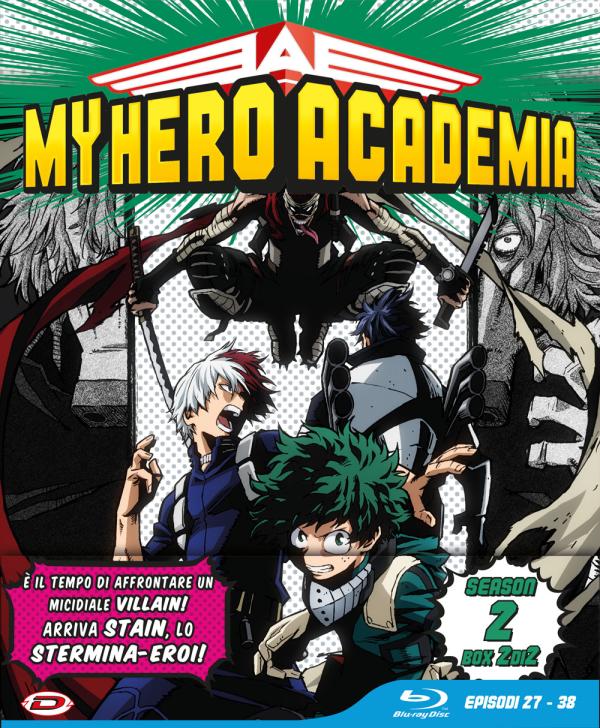 My Hero Academia Stagione 02 Box 2 Eps 27-38 Ltd Edition 3 Blu-Ray