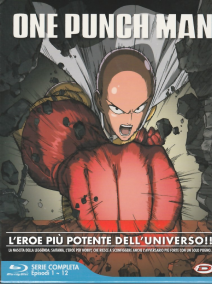 One Punch Man The Complete Series Box (3 Blu-ray)