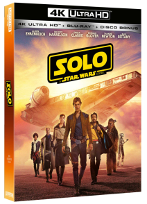 Star Wars Solo A Star Wars Story ( Blu-ray 4k Ultra Hd+2 Blu-ray )