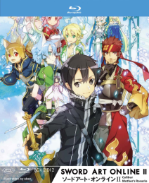 Sword Art Online Ii Box 02 (eps 15-24) (ltd) (2 Blu-ray+cd)