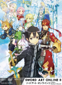 Sword Art Online Ii Box 02 (eps 15-24) (ltd) (2 Dvd+cd)