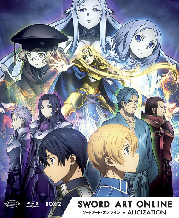 Sword Art Online Iii Alicization Limited Edition Box #02 (Eps 13-24) (3 Blu-Ray)