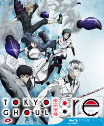 Tokyo Ghoul:re Stagione 03 Box 01 ( Eps 01-12) (3 Blu-ray) ( Ed. Limitata)