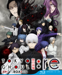Tokyo Ghoul:re Stagione 03 Box 02 ( Eps 01-12) (3 Blu-ray) ( Ed. Limitata)