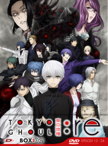Tokyo Ghoul:re Stagione 03 Box 02 ( Eps 01-12) (3 Dvd) ( Ed. Limitata)