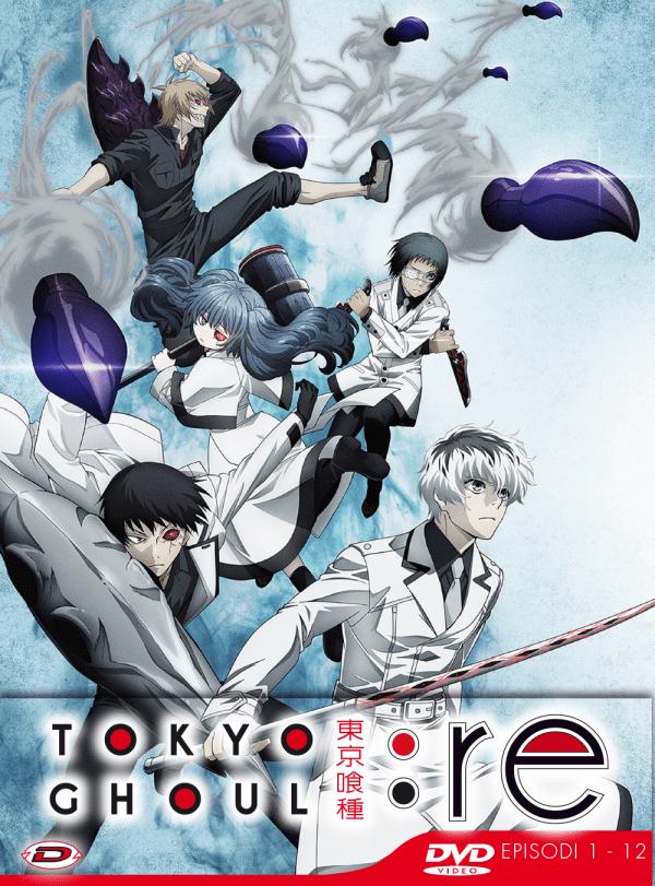 Tokyo Ghoul:re Stagione 03 Box 01 ( Eps 01-12) (3 Dvd) ( Ed. Limitata)