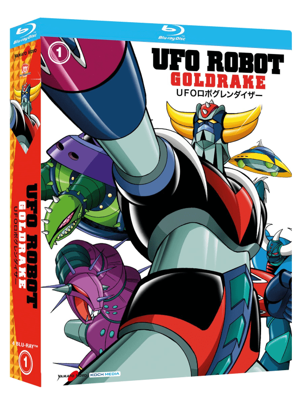 Ufo Robot Goldrake 01 (5 Blu-ray)