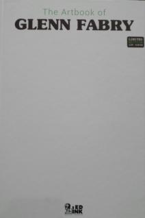 Artbook Glenn Fabry Edizione White Cover 2
