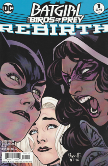 Batgirl And The Birds Of Prey Rebirth 1