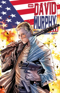 David Murphy 911 Season Two 1 Variant Metal