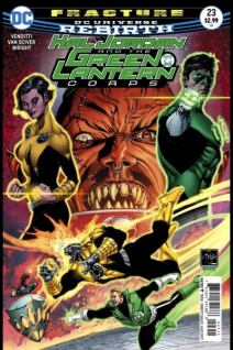 Hal Jordan And The Green Lantern Corps Rebirth 23