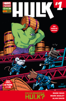 Hulk E I Difensori Cover Animal 28