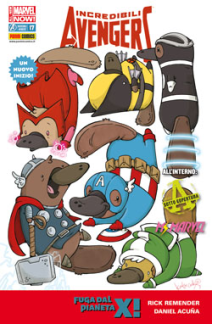 Incredibili Avengers Cover Animal 17