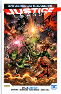 Justice League Rebirth Ultralimited 2