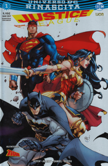 Justice League Rinascita Silver Cover 1