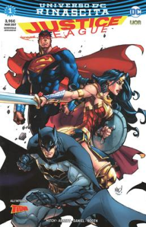 Justice League Rinascita Ultravariant 1