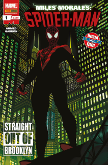 Miles Morales Spider-man 1 Straight out of Brooklyn