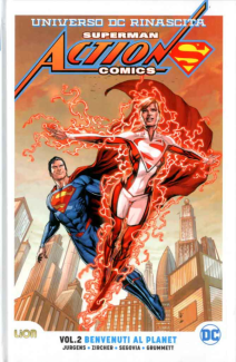 Superman Action Comics Rebirth Ultralimited 2