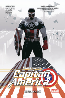 Sam Wilson Captain America Marvel Collection 3