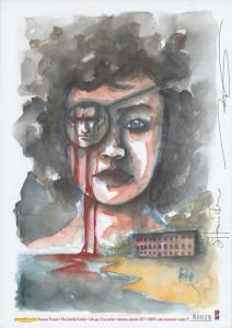 The Cannibal Family Litografia A4 Riminicomix 2017