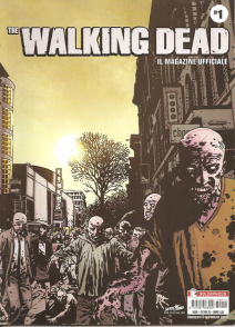 The Walking Dead Il Magazine Ufficiale Cover Variant 1