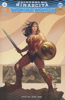 Wonder Woman Rinascita Ultravariant 2