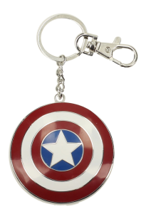 Captain America Shield Metal Keychan