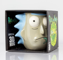 Rick And Morty Rick Sanchez 3d Tazza