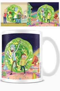 Rick And Morty Tazza