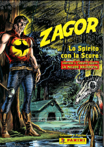 Zagor Lo Spirito Con La Scure Cofanetto + Album Hard Cover + 3 Bustine + 1 Card