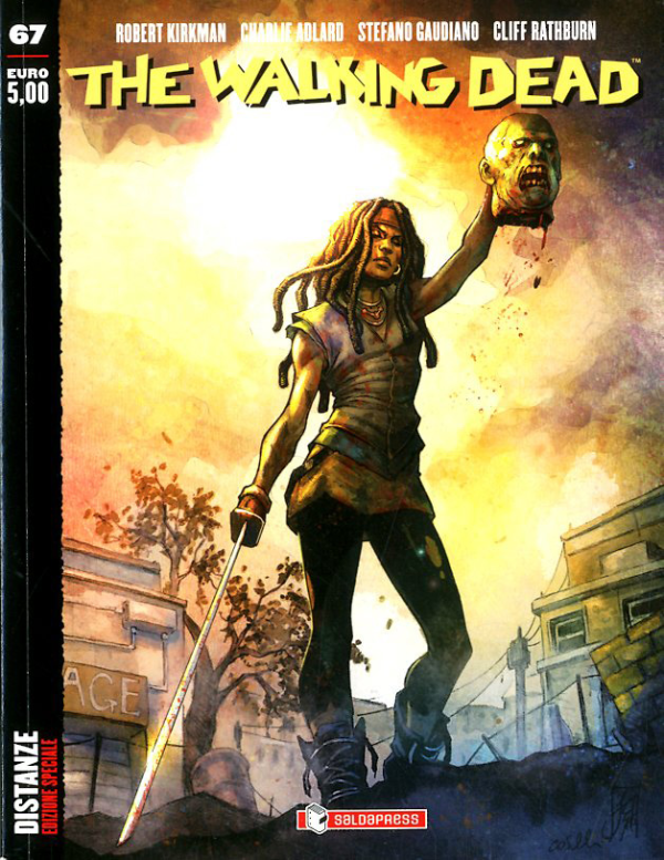 The Walking Dead Edicola 67